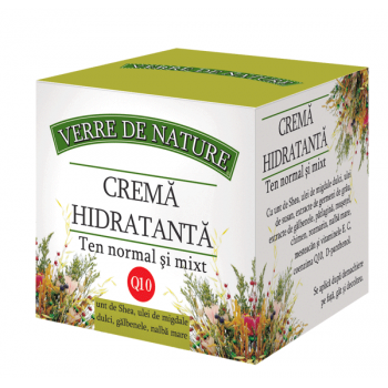 Crema hidratanta pentru ten normal si mixt 50 ml VERRE DE NATURE