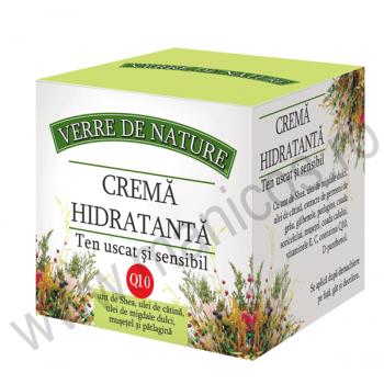 Crema hidratanta pentru ten uscat si sensibil 50 ml VERRE DE NATURE
