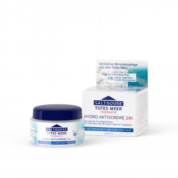 Crema hidro-activa 24 h 50 ml SALTHOUSE