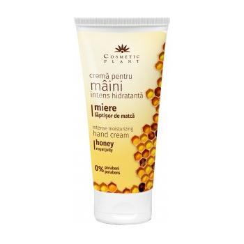 Crema intens hidratanta pentru maini cu miere si laptisor de matca 100 ml COSMETIC PLANT