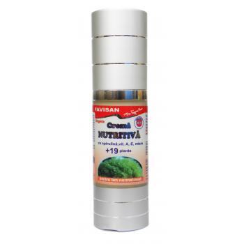 Crema nutritiva cu 19 plante bo005 30 ml FAVISAN