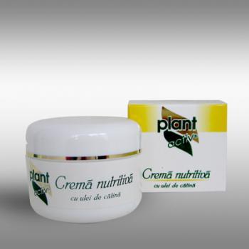 Crema nutritiva cu ulei de catina 50 ml PLANT ACTIV