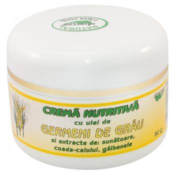 Crema nutritiva cu ulei din germeni de grau 50 ml ABEMAR