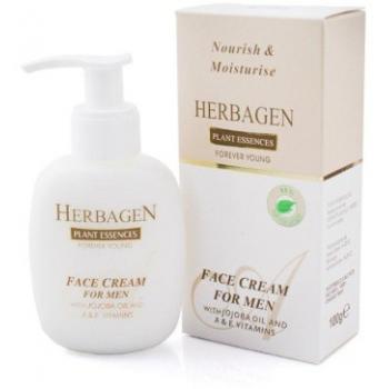 Crema pentru barbati cu ulei de jojoba si vitamine 100 ml HERBAGEN