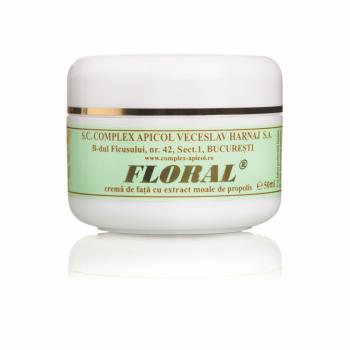 Crema pentru fata cu extract moale de propolis 50 ml FLORAL