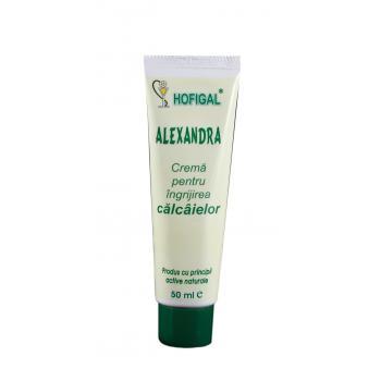 Crema pentru ingrijirea calcaielor alexandra 50 ml HOFIGAL