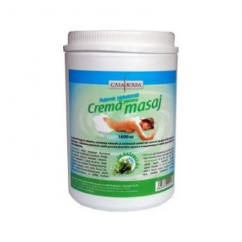 Crema pentru masaj cu alge marine 1000 ml CASA HERBA