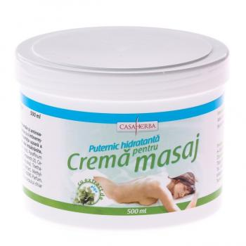 Crema pentru masaj cu alge marine 500 ml CASA HERBA