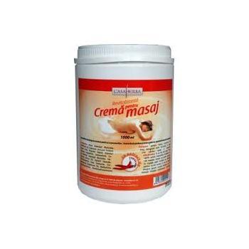 Crema pentru masaj cu ardei iute 1000 ml CASA HERBA