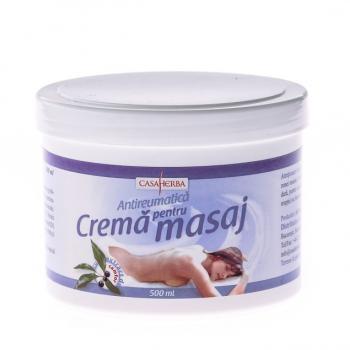Crema pentru masaj cu camfor 500 ml CASA HERBA