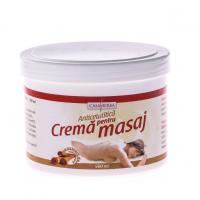 Crema pentru masaj cu extract de scortisoara