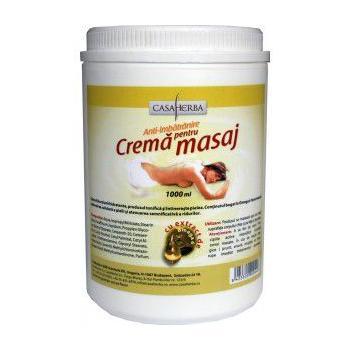 Crema pentru masaj cu omega 6 1000 ml CASA HERBA