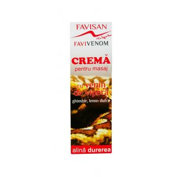 Crema pentru masaj cu venin de vipera fv004 50 ml FAVISAN