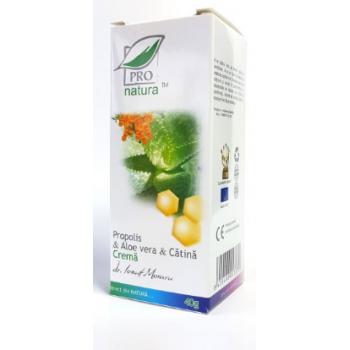 Crema propolis & aloe vera & catina 40 ml PRO NATURA