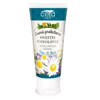 Crema protectoare cu musetel si fosfolipide 50 ml CETA