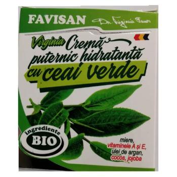 Crema puternic hidratanta cu ceai verde m014 40 ml FAVISAN