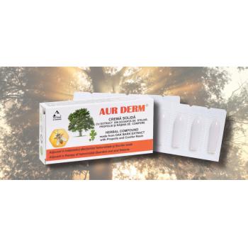 Crema solida cu scoarta de stejar (supozitoare) 10 gr LAUR MED