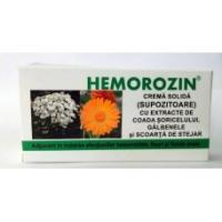 Crema solida hemorozin supozitoare 1.5gr