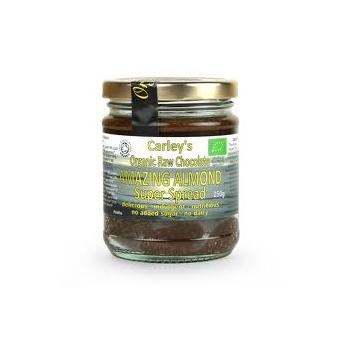 Crema tartinabila cu ciocolata si migdale raw bio  250 ml CARLEY S ORGANIC