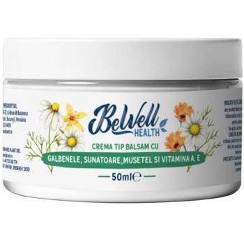 Crema tip balsam cu galbenele,sunatoare,musetel si vitamina a,e  50 ml BEWELL HEALTH