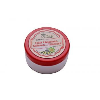 Crema untul pamantului cu tataneasa si galbenele  100 ml NATURA PLANT POIENI