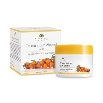 Crema vitamizanta de zi cu ulei de catina si masline 50 ml COSMETIC PLANT