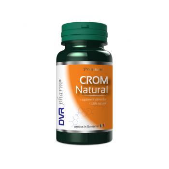 Crom natural 60 cps DVR PHARM