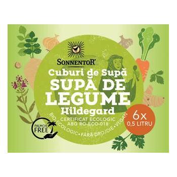 Cuburi de supa cu legume hildegard 60 gr SONNENTOR