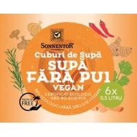 Cuburi de supa fara pui vegan