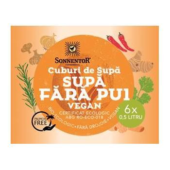 Cuburi de supa fara pui vegan 60 gr SONNENTOR