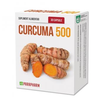 Curcuma 500 30 cps PARAPHARM