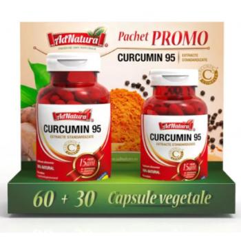 Curcumin 95 (promo) 60+30 cps ADNATURA