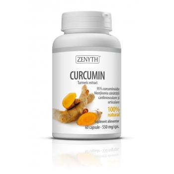 Curcumin, mentine sanatatea cardiovasculara si articulara 60 cps ZENYTH