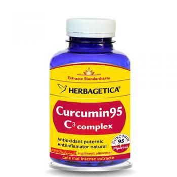 Curcumin95 c3 complex 120 cps HERBAGETICA
