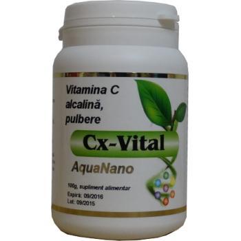 Cx-vital, vitamina c tamponata 100 gr AQUANANO