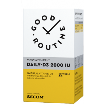 Daily-d3  2000iu  60 cps TEALIA