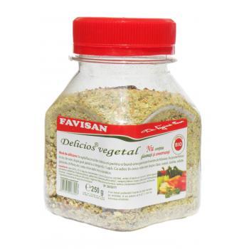 Delicios vegetal cu sare f011 250 gr FAVISAN