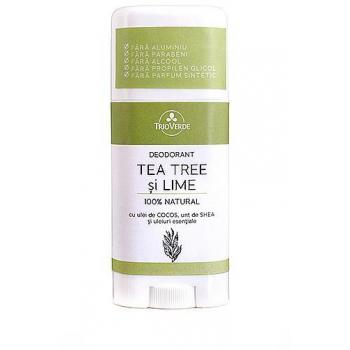 Deodorant natural cu tea tree si lime 70 gr TRIO VERDE