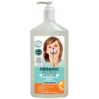 Detergent eco pt.vase cu portocala  500 ml ORGANIC PEOPLE
