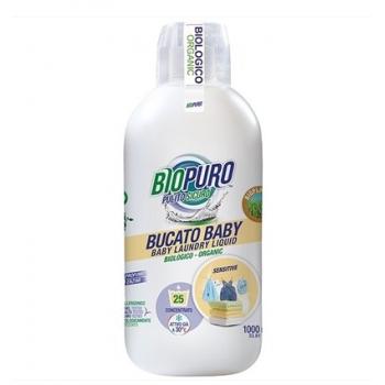 Detergent hipoalergen pentru hainutele copiilor 1000 ml BIOPURO