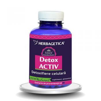 Detox activ 120 cps HERBAGETICA