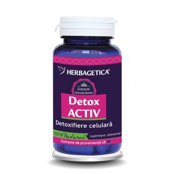 Detox activ 60 cps HERBAGETICA
