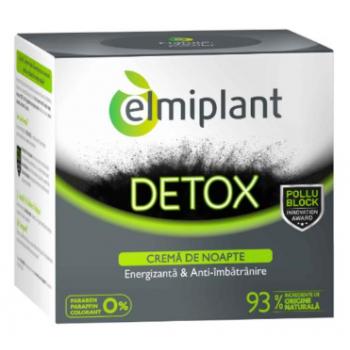 Crema de noapte detox energizanta 50 ml ELMIPLANT