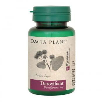Detoxifiant 60 cpr DACIA PLANT