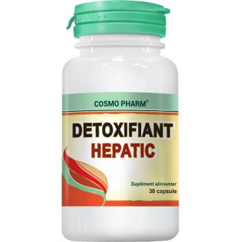 Detoxifiant hepatic 30 cps COSMOPHARM
