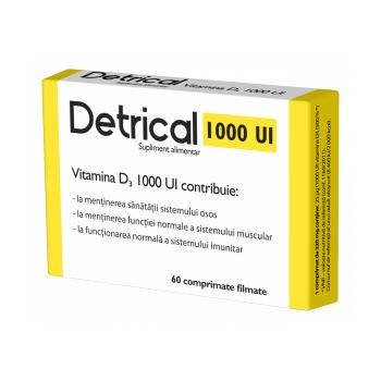 Detrical d3 1000 iu 60 cpr ZDROVIT
