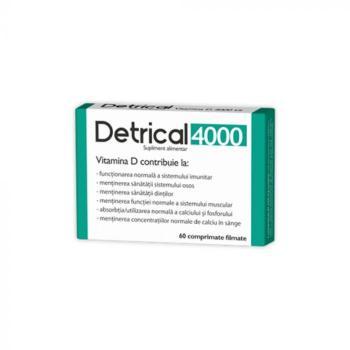 Detrical d3 4000iu  60 cpr ZDROVIT