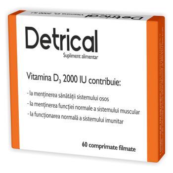 Detrical-vitamina d3 2000iu 60 cpr ZDROVIT