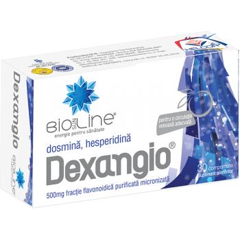 Dexangio, tonic venos pentru picioare frumoase 30 cpr BIO SUN LINE
