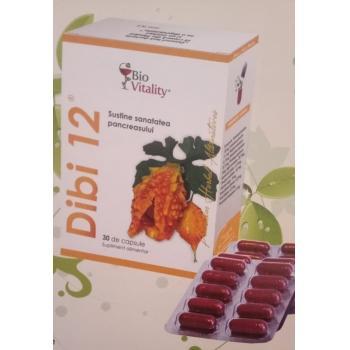 Dibi-i2 reduce blocajele cardiovasculare 30 cps BIO VITALITY